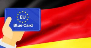 blue card в германии